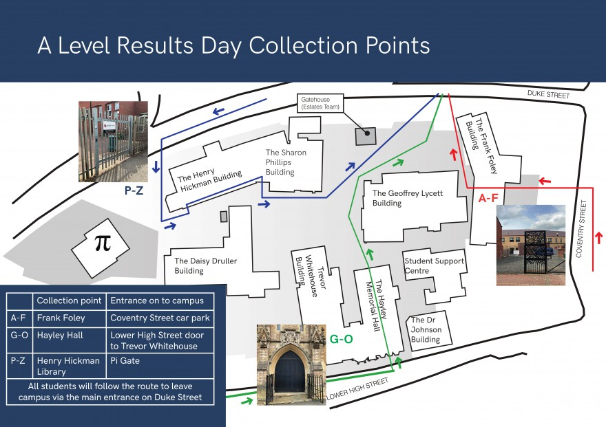 Results collection map
